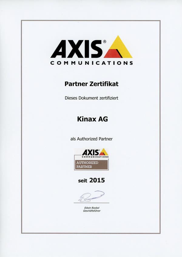 Axis Parnter